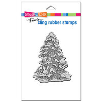 Stampendous - Cling Mounted Rubber Stamps - Forest Christmas