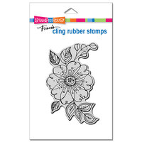 Stampendous - Cling Mounted Rubber Stamps - Big Floral Pop