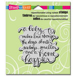 Stampendous - Cling Mounted Rubber Stamps - Baby Makes