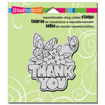 Stampendous - Cling Mounted Rubber Stamps - Chunky Thank You