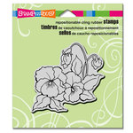 Stampendous - Cling Mounted Rubber Stamps - Pansies