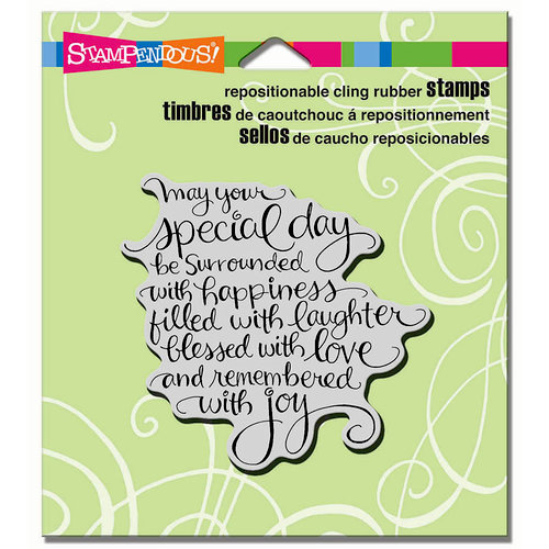 Stampendous - Cling Mounted Rubber Stamps - Special Day