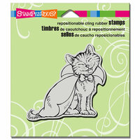 Stampendous - Halloween - Cling Mounted Rubber Stamps - Count Catula
