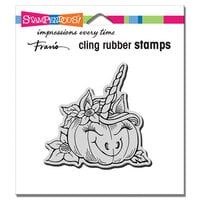 Stampendous - Halloween - Cling Mounted Rubber Stamps - Punicorn