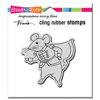 Stampendous - Cling Mounted Rubber Stamps - Prince Mouse