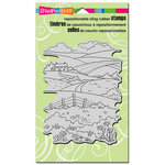 Stampendous - Cling Mounted Rubber Stamps - Rolling Hills