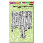 Stampendous - Cling Mounted Rubber Stamps - Birch Forest