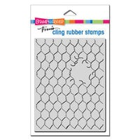 Stampendous - Cling Mounted Rubber Stamps - Chicken Wire