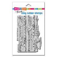 Stampendous - Cling Mounted Rubber Stamps - Birds Return