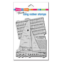 Stampendous - Cling Mounted Rubber Stamps - Catamaran Sail