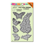 Stampendous - Cling Mounted Rubber Stamps - Lilac