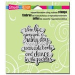 Stampendous - Cling Mounted Rubber Stamps - Cute Boots