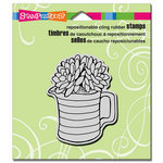 Stampendous - Cling Mounted Rubber Stamps - Succulent Pitcher