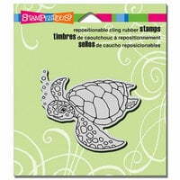Stampendous - Cling Mounted Rubber Stamps - Sea Turtle