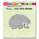 Stampendous - Cling Mounted Rubber Stamps - Happy Hedgehog