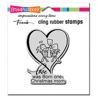 Stampendous - Cling Mounted Rubber Stamps - Christmas Morn