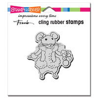 Stampendous - Cling Mounted Rubber Stamps - Mrs. Mouse