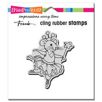 Stampendous - Cling Mounted Rubber Stamps - Clara Mouse