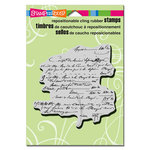 Stampendous - Cling Mounted Rubber Stamps - Vintage Contract