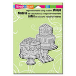 Stampendous - Cling Mounted Rubber Stamps - Dessert Display