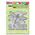 Stampendous - Cling Mounted Rubber Stamps - Dragonfly Wings