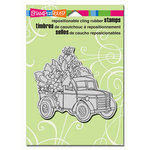 Stampendous - Cling Mounted Rubber Stamps - Succulent Truck