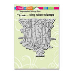 Stampendous - Cling Mounted Rubber Stamps - Robin Woods