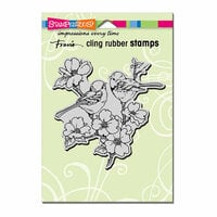 Stampendous - Cling Mounted Rubber Stamps - Dogwood Birds