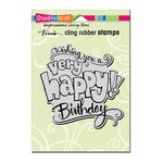 Stampendous - Cling Mounted Rubber Stamps - Great Big Happy