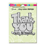 Stampendous - Cling Mounted Rubber Stamps - Great Big Thanks