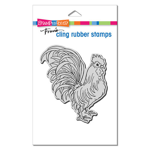 Stampendous - Cling Mounted Rubber Stamps - Rooster