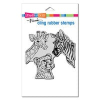 Stampendous - Cling Mounted Rubber Stamps - Safari Sighting