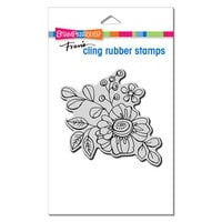 Stampendous - Cling Mounted Rubber Stamps - Floral Pop 2