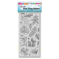 Stampendous - Cling Mounted Rubber Stamps - Slimline - Leafy Trees