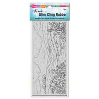 Stampendous - Cling Mounted Rubber Stamps - Slimline - Meadow