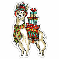 Stampendous - Christmas - Wood Mounted Stamps - Curio Llama