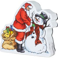Stampendous - Christmas - Wood Mounted Stamps - Curio Santa Scarf