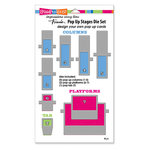Stampendous - Die Set - Pop Up Stages