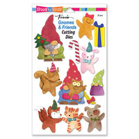 Stampendous - Christmas - Die Set - Gnomes and Friends