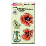 Stampendous - Die Set - Pretty Poppies