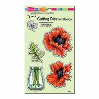 Stampendous - Die Set - Pretty Poppies