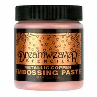 Stampendous - Dreamweaver Stencils - Embossing Paste - Copper