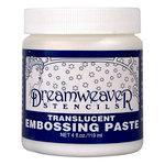 Stampendous - Dreamweaver Stencils - Embossing Paste - Translucent