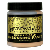 Stampendous - Dreamweaver Stencils - Embossing Paste - Gold