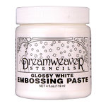 Stampendous - Dreamweaver Stencils - Embossing Paste - Glossy White