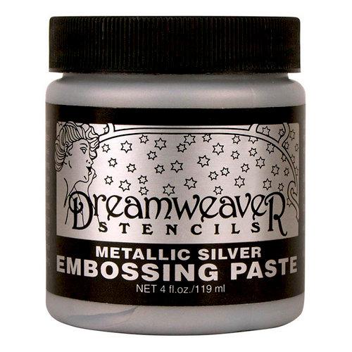 Stampendous - Dreamweaver Stencils - Embossing Paste - Silver