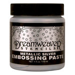Stampendous - Dreamweaver Stencils - Embossing Paste - Silver