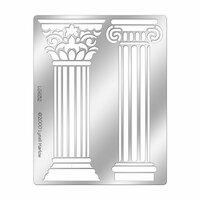 Stampendous - Metal Stencil - Columns
