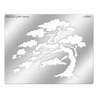 Stampendous - Metal Stencil - Cypress Tree