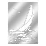 Stampendous - Metal Stencil - Sailboat